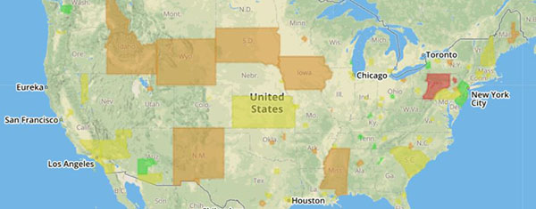 TIM National Institutionalization Values map